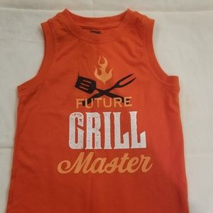 Gymboree orange grill tank 5